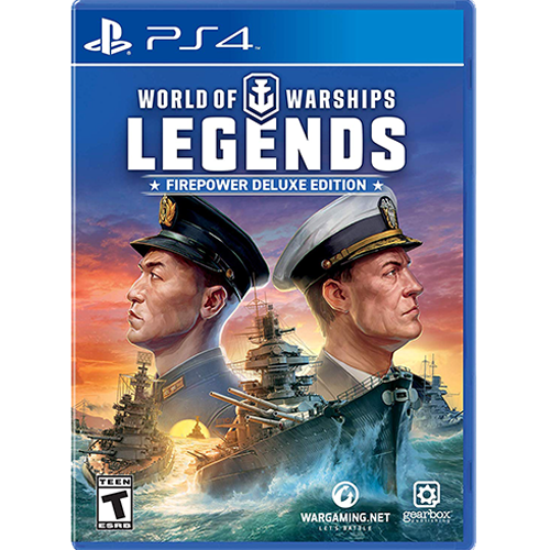 PS4 World of Warships Legend Firepower Deluxe Edition (R2)