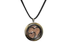 Peace of Stage Heart Locket