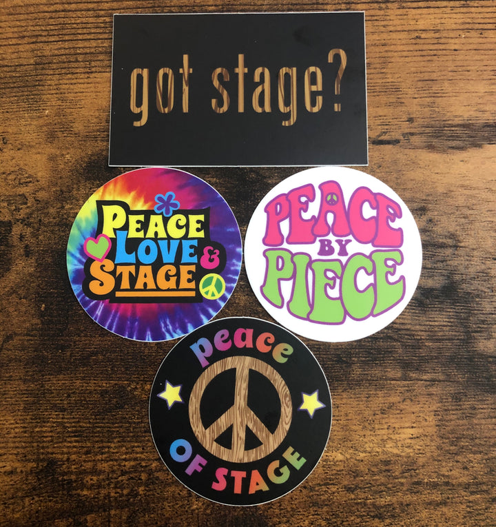 Peace of Stage Sticker Pack