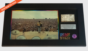The Stage Frame - The Stage - Peace Of Stage - Peace Of Woodstock Stage