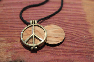 Peace Pendant - The Stage - Peace Of Stage - Peace Of Woodstock Stage