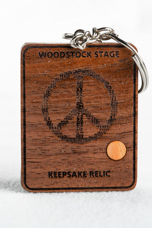 Peace of Stage Key Chains