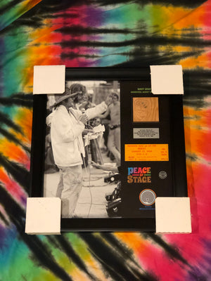 Camp Winnarainbow Wavy Gravy Frame - The Stage - Peace Of Stage LLC - Peace Of Woodstock Stage