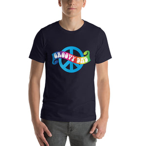 Groovy Dad Tee - Peace Tees - Peace Of Stage LLC - Peace Of Woodstock Stage
