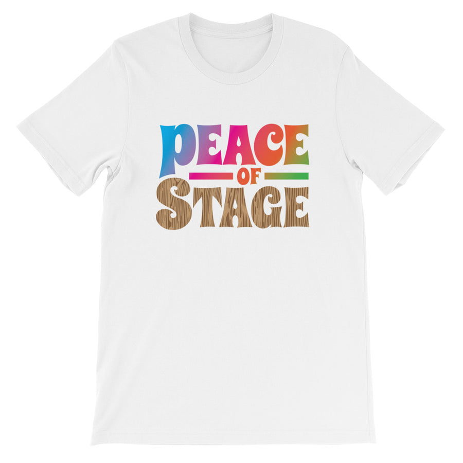 Peace of Stage Tee - Peace Tees - Peace Of Stage - Peace Of Woodstock Stage