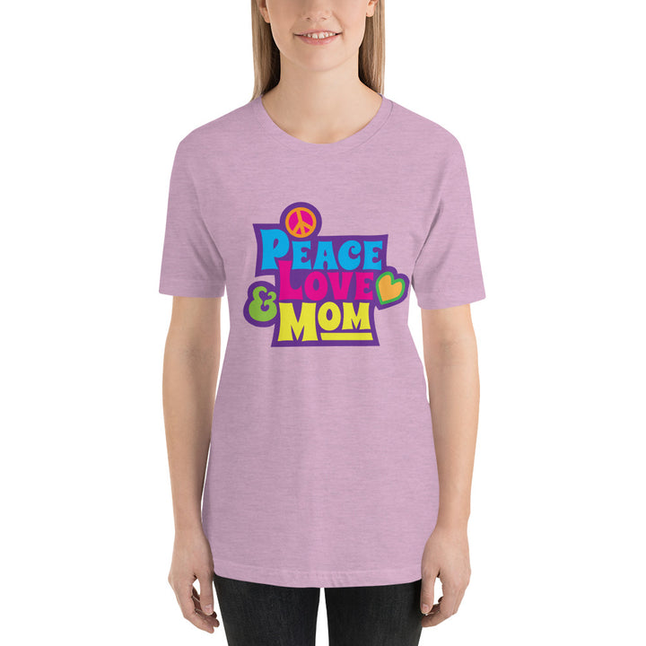 Peace, Love, & Mom Tee - Peace Tees - Peace Of Stage LLC - Peace Of Woodstock Stage