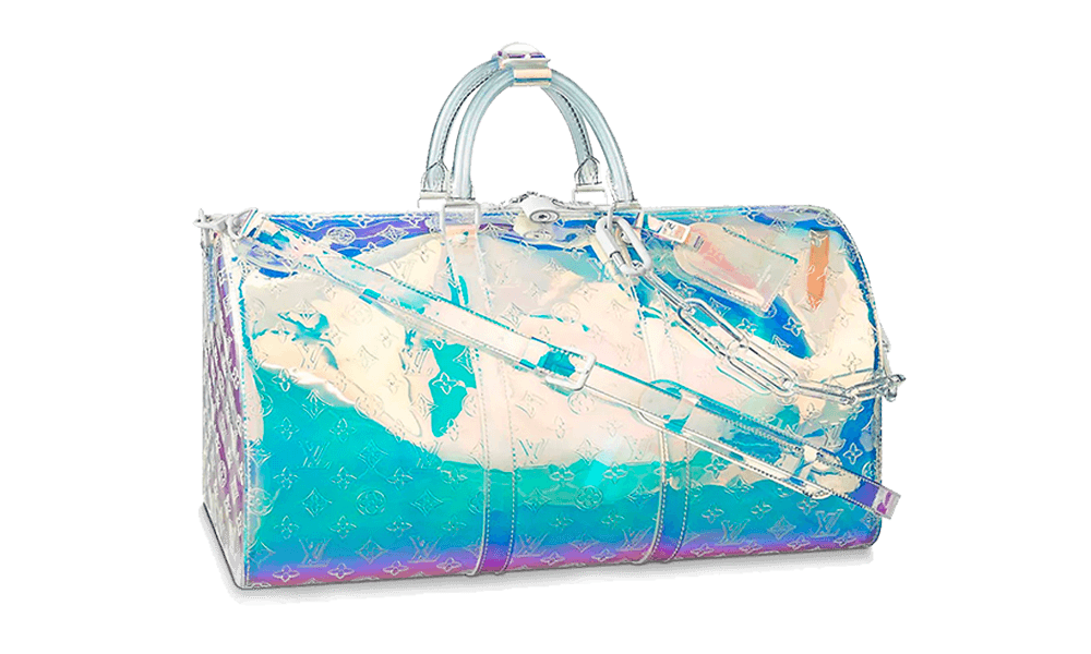 6423bb3b211a Keepall Prism Monogram Bandouliere 50 Iridescent - Sneakersxstock