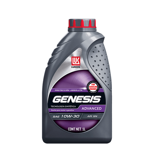 GENESIS Advanced SAE 10W-30 - Lukoil Lubricants Mexico