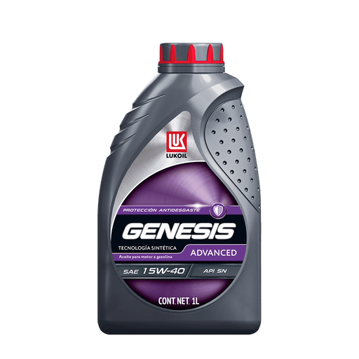 Aceites de motor - GENESIS Advanced SAE 15W-40 - Lukoil Lubricants Mexico
