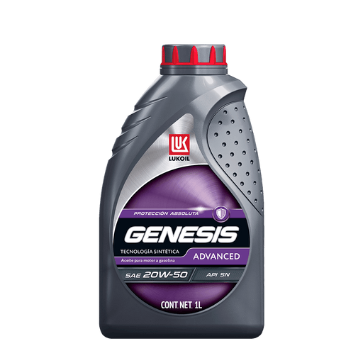 GENESIS Advanced SAE 20W-50 - Lukoil Lubricants Mexico