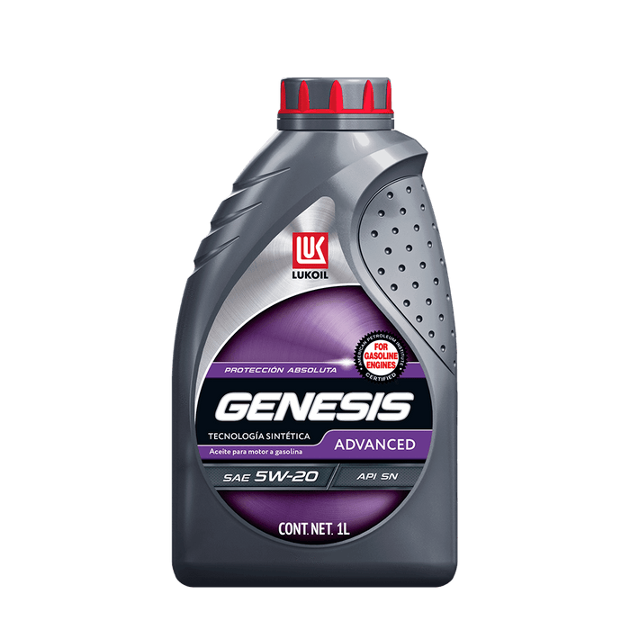 Aceites de motor - GENESIS Advanced SAE 5W-20 - Lukoil Lubricants Mexico