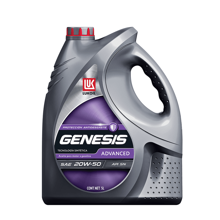 Aceites de motor - GENESIS Advanced SAE 20W-50 - Lukoil Lubricants Mexico
