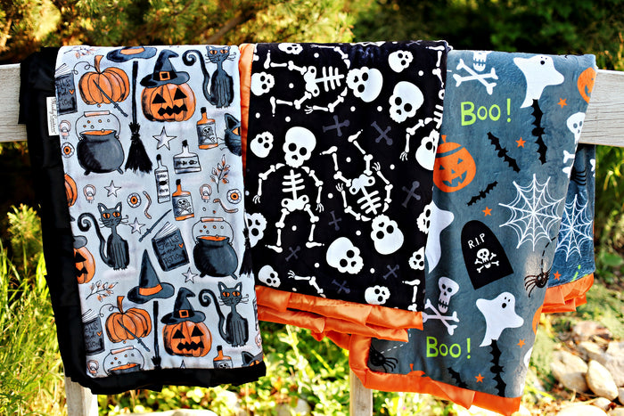 QUIZ: Tell Us Your Favorite Halloween Candy & We'll Match You With A Minky Blanket