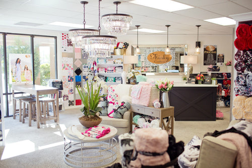 Minky Couture store location in St. George, Utah.
