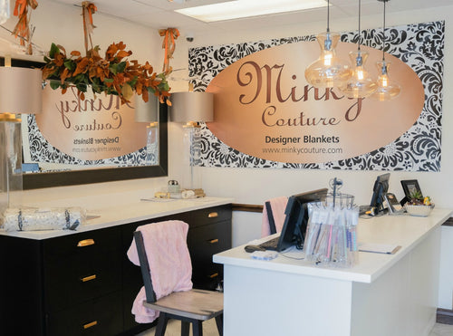 Minky Couture store location in South Ogden, Utah.