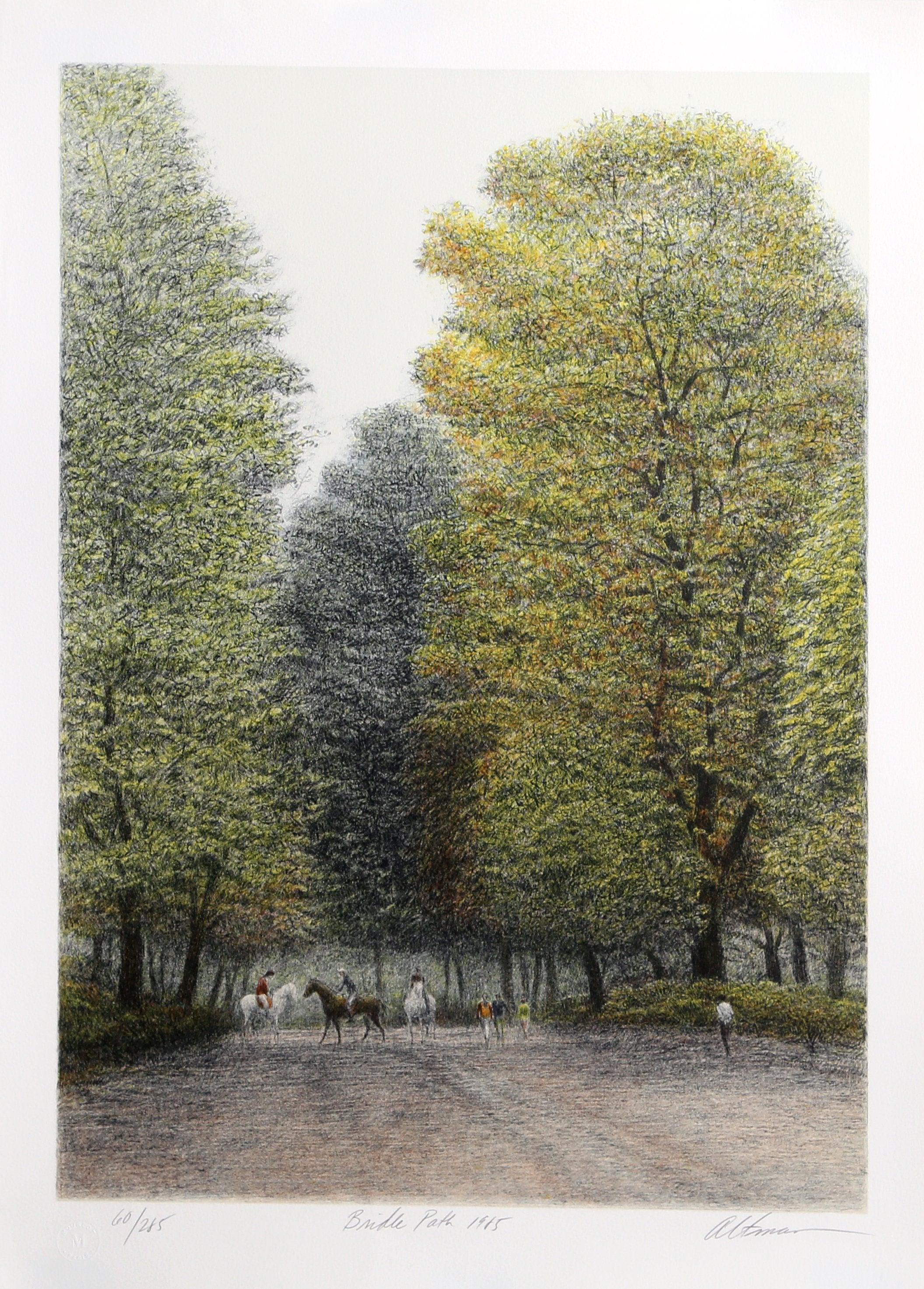Harold Altman, Bridle Path Lithograph - RoGallery