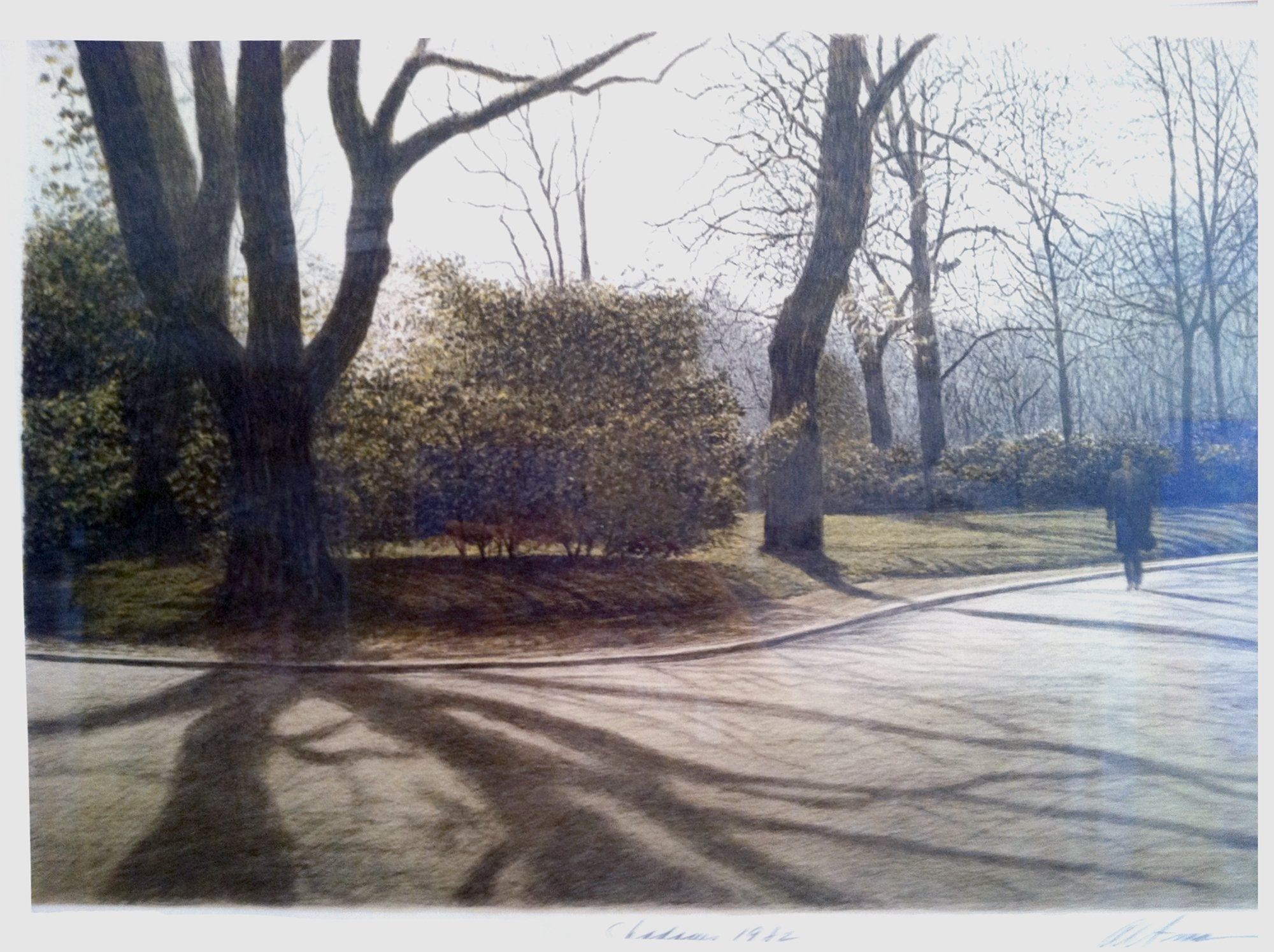 Harold Altman, Shadows Lithograph - RoGallery