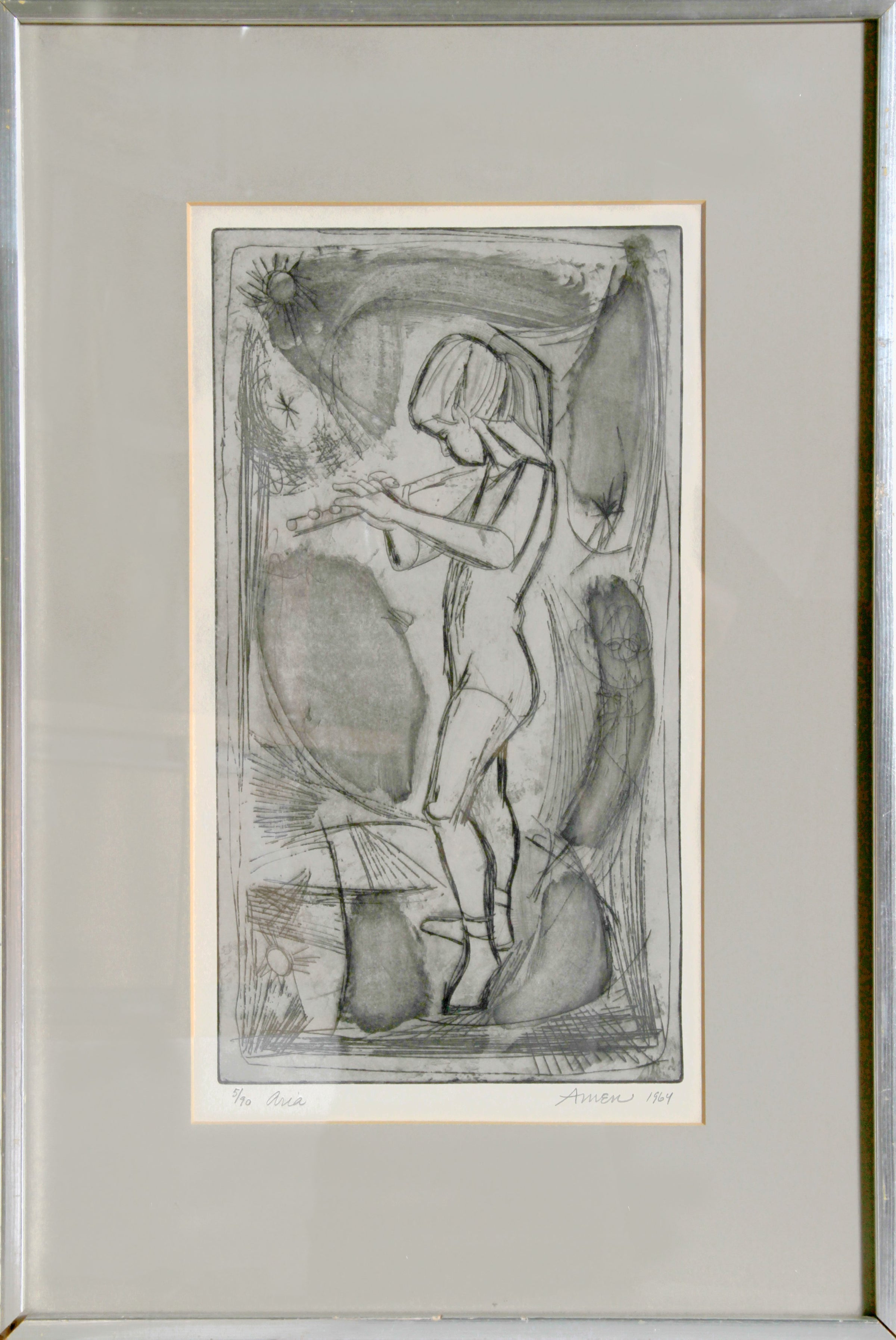 Irving Amen, Aria Etching - RoGallery