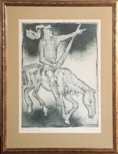Irving Amen, Don Quixote Etching - RoGallery