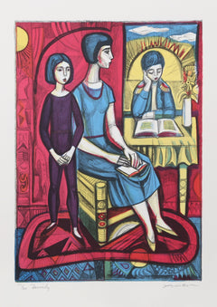 Irving Amen, Family Lithograph - RoGallery