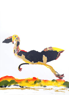 Benny Andrews, Moving On Lithograph - RoGallery