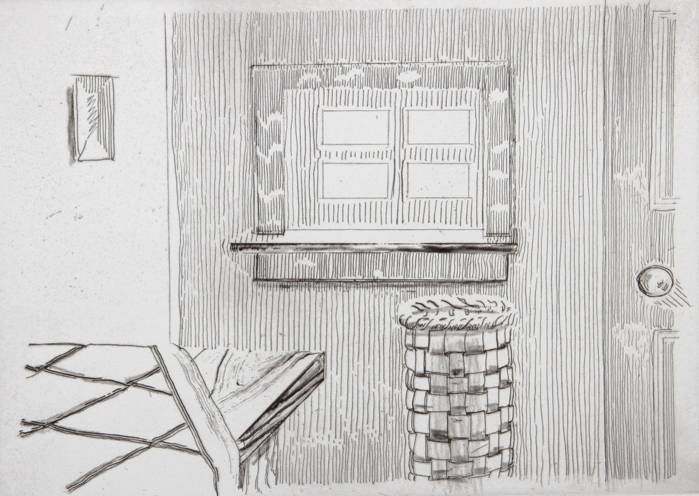 Richard Artschwager, Window, from Notes on a Room Etching - RoGallery