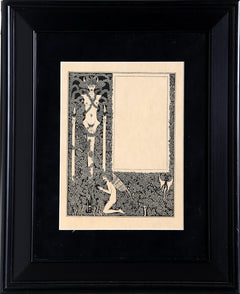 Aubrey Beardsley, Salome (Border Design with Devil) Lithograph - RoGallery