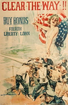 Howard Chandler Christy, Clear the Way, WWI Poster - RoGallery