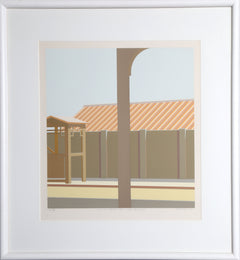 Saul Chase, 10AM (Elevated Entrance) Upper Broadway Screenprint - RoGallery