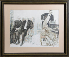 Howard Chandler Christy, Looking Backwards Lithograph - RoGallery