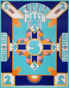 Seymour Chwast, Penny Pitch Poster - RoGallery