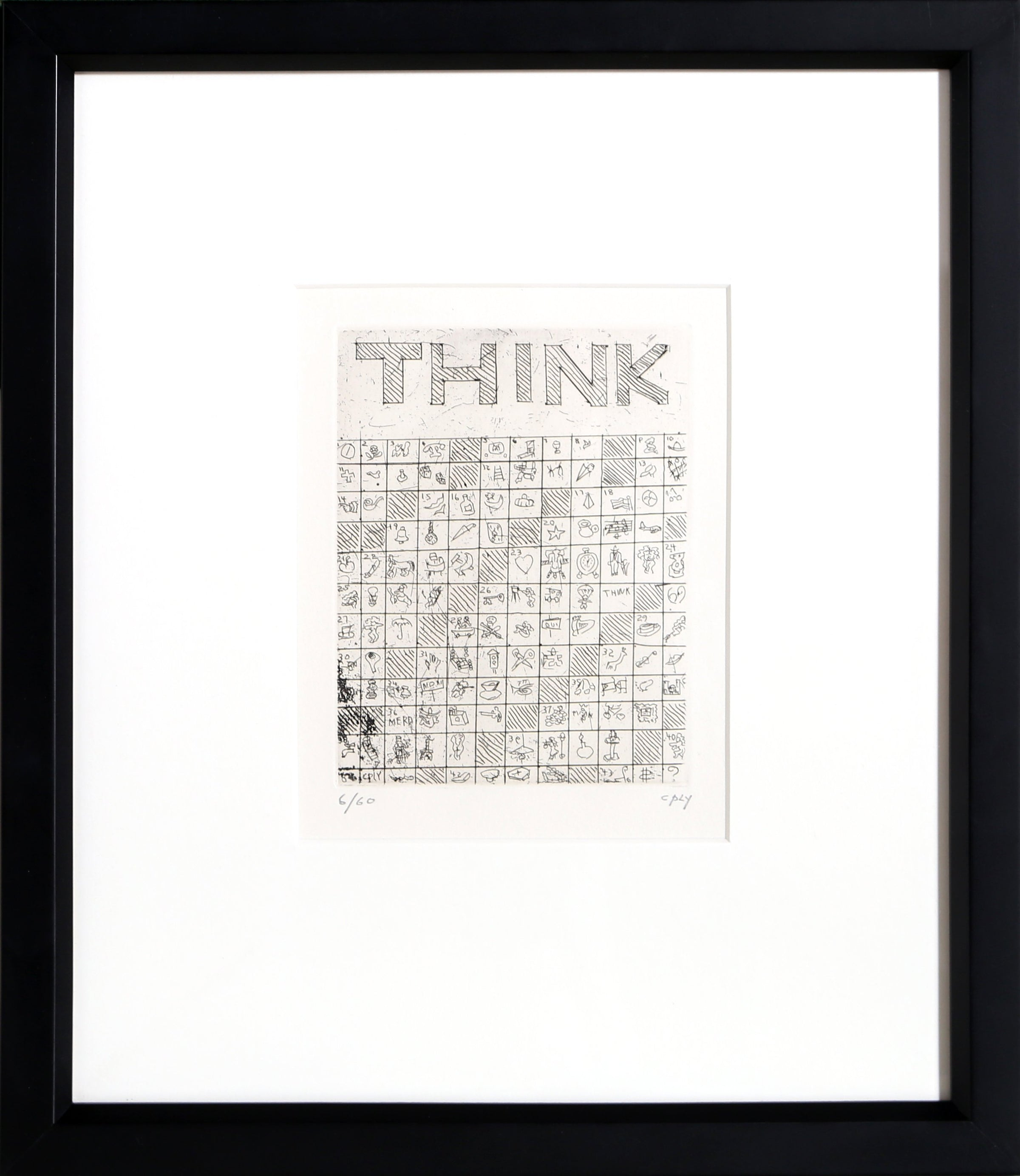 William Copley, Think Etching - RoGallery