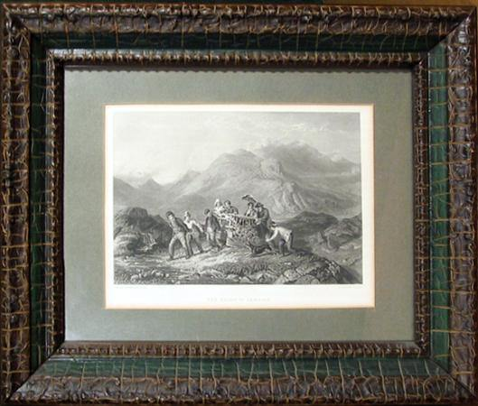 Charles Cousen, The Height of Ambition Etching - RoGallery