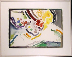 Berenice D'Vorzon, Abstracted Flower Watercolor - RoGallery