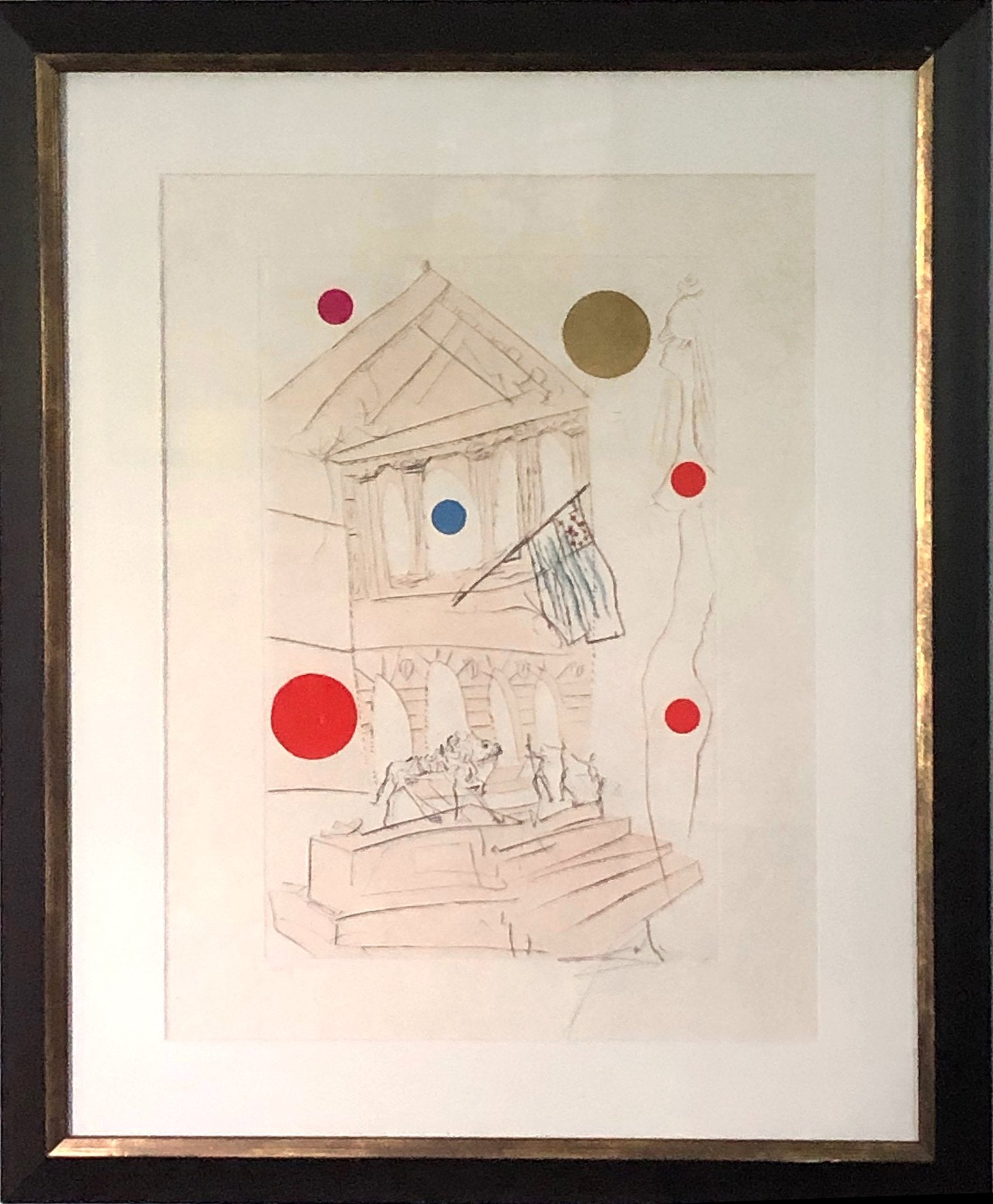 Salvador Dalí, The Art Institute Etching - RoGallery