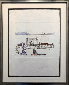 Salvador Dalí, Judgment Etching - RoGallery
