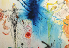 Salvador Dalí, The Land of Milk and Honey Lithograph - RoGallery