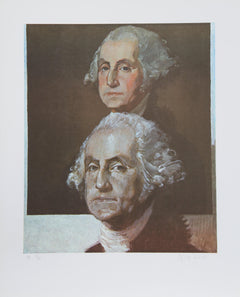 George Deem, George Washington, George Washington Lithograph - RoGallery