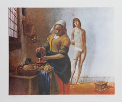 George Deem, Sebastian In The Kitchen Lithograph - RoGallery