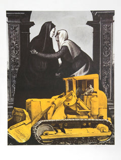 George Deem, The Visitation Lithograph - RoGallery