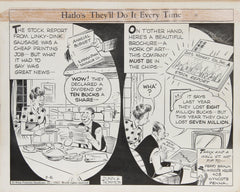 Bob Dunn, Hatlo's Do it every time Ink - RoGallery