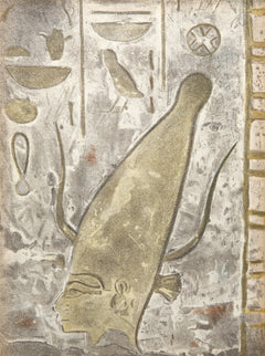 Constantin Guys, Egyptian Bas Relief II from Verve Book Lithograph - RoGallery
