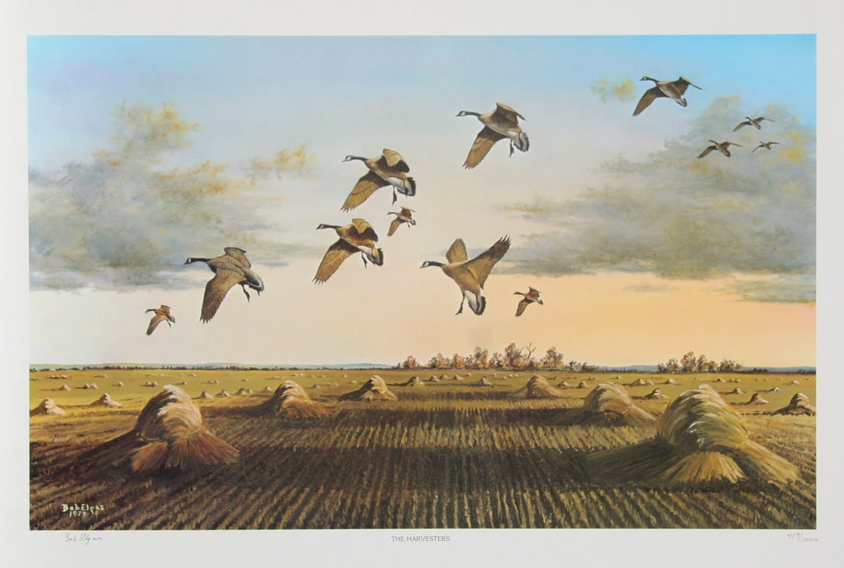 Bob Elgas, The Harvesters Lithograph - RoGallery