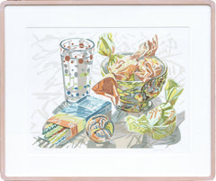 Janet Fish, Bowl of Candy Lithograph - RoGallery