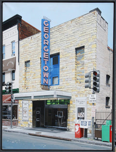 Charles Ford, Georgetown Movie Theatre Acrylic - RoGallery
