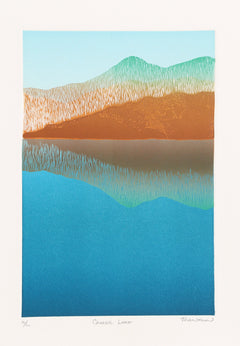 Franklin, Crater Lake Etching - RoGallery