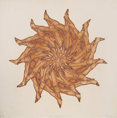 Franklin, Kaleidoscope Lithograph - RoGallery