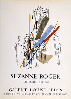 Suzanne Roger, Galerie Louise Leiris Poster - RoGallery