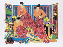Estelle Ginsburg, Three Graces Lithograph - RoGallery