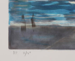 Lloyd Lozes Goff, Entrance to Venice Lithograph - RoGallery